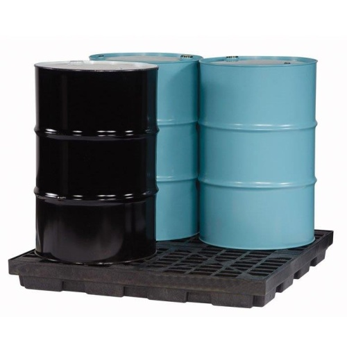 Trapping floor 4x200l barrel