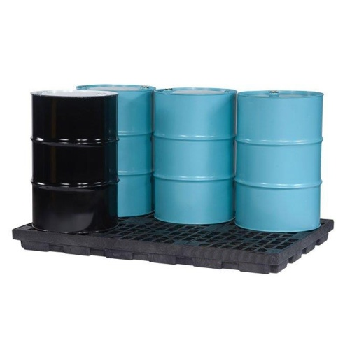 Trapping floor 6x200l barrel