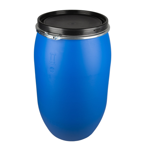 Plastic barrel 220 l - removable lid