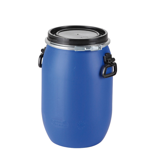 Plastic barrel 60 l - with removable lid