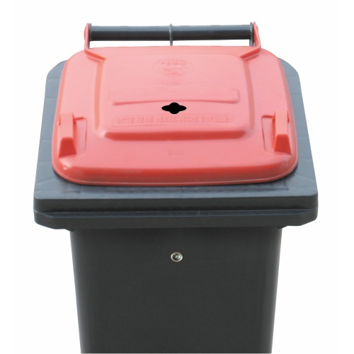 Plastic bin 120 l for battery collecting