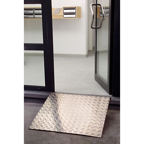 Aluminium access ramp 800x800 mm