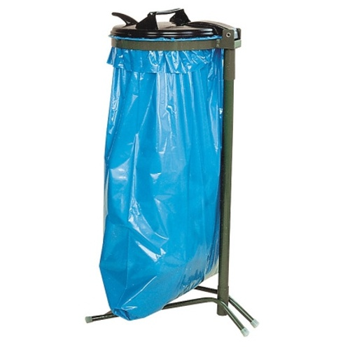 Bag stand 120 l. - with plastic lids