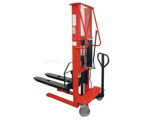 Manual high-lift truck - load capacity 1000 kg