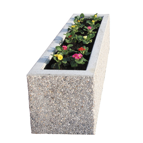 Concrete pot - 1500x500x500 mm