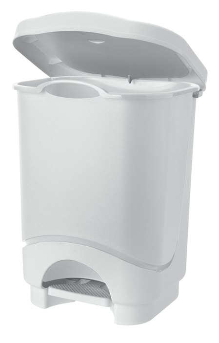 Plastic foot lifting bin 25 l.