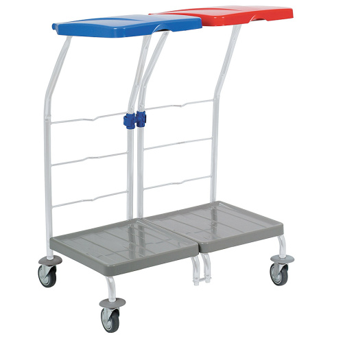 Mobile double-stand 2x120 l.