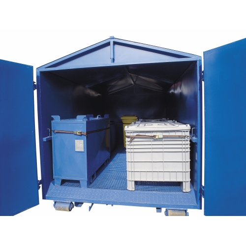 Mobile big collecting container (Abroll)