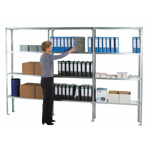 Shelf sectional rack