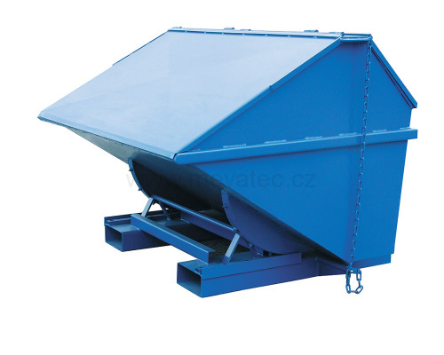 Profi container with cover 1100 l.