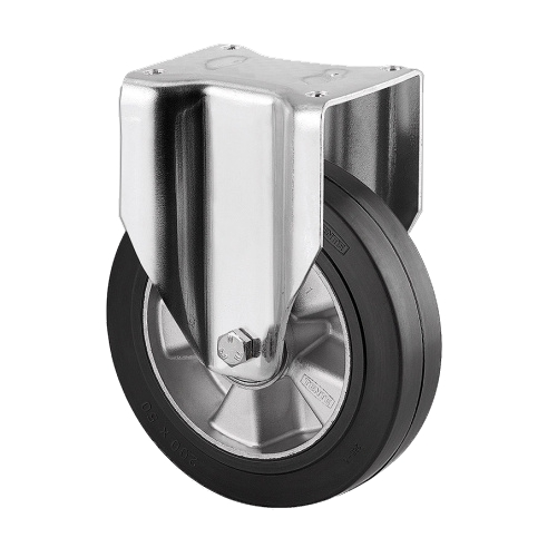 Machine wheel - fixed wheel - 200 mm