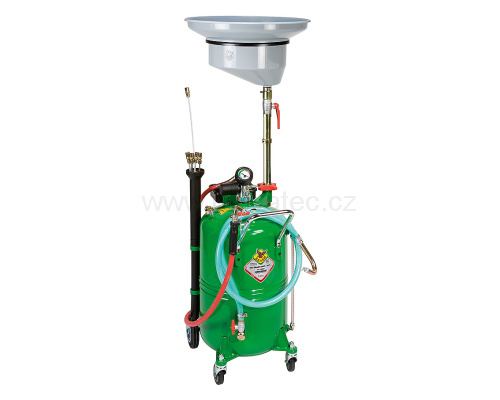 Mobile vacuum cleaner and discharger