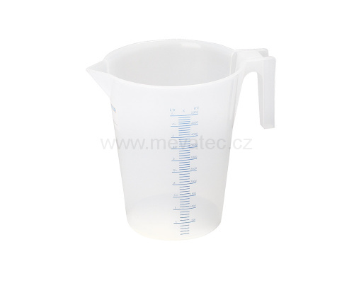 Plastic measuring jar - standart