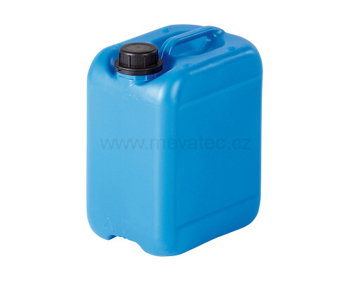Plastic canister 6 l.