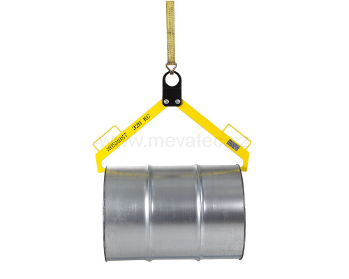 Horizontal hanging of a barrel