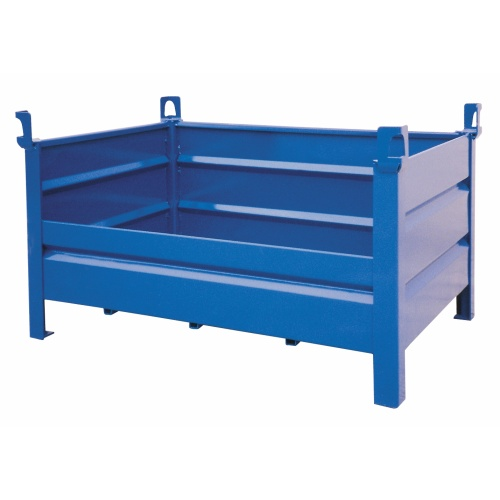 Metal box pallet - standart design with lower si