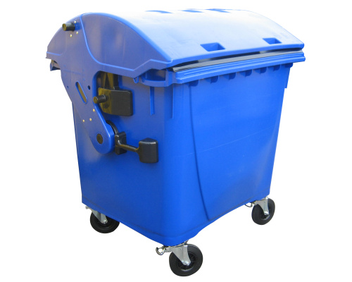 Plastic container 1100 l - blue