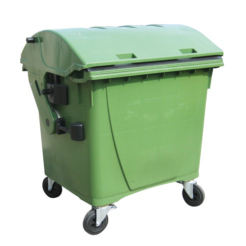 Plastic container 1100 l - green