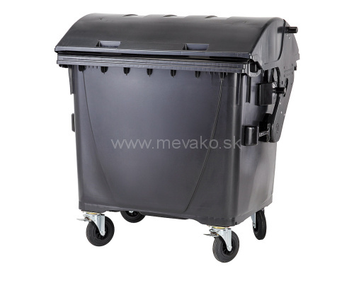 Plastic container 1100 l - black