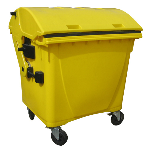 Plastic container 1100 l - yellow