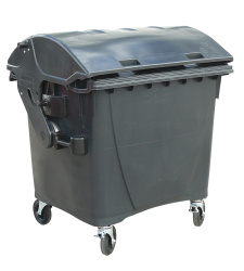 Plastic containers 1100 l.