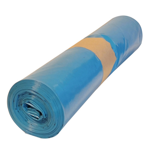 Polyethylene bag 70x110 - blue, 80 mi
