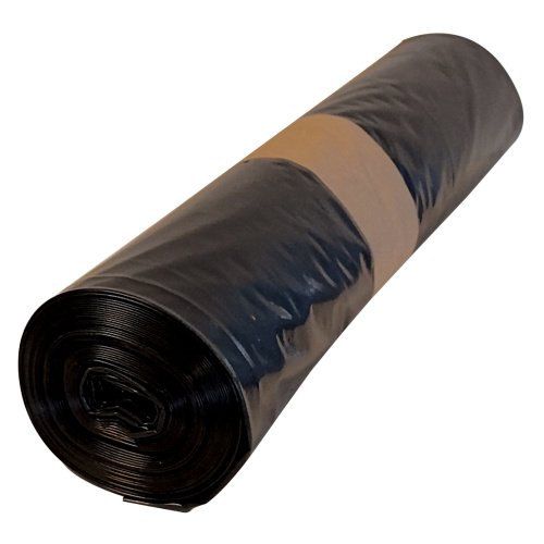 Polyethylene bag 70x110 - black, 80 mi