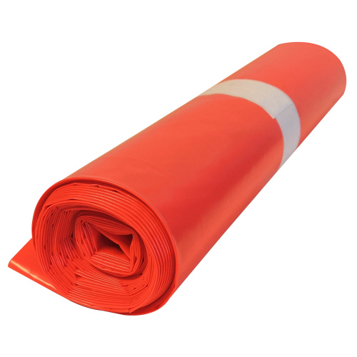 Poylethylene bag 70x110 - red, 80 mi