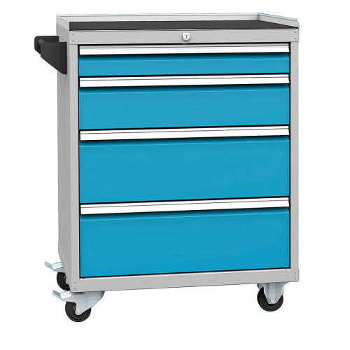 Service trolley - 4x drawer