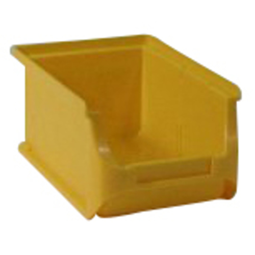 Plastic container 205x352x150 - yellow
