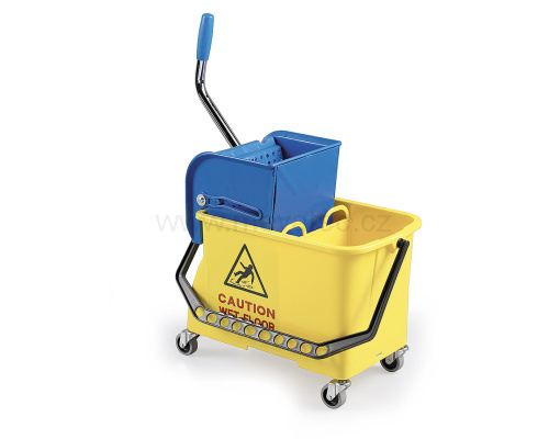 Cleaning trolley 2x 15 l