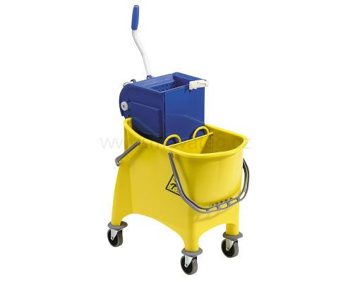 Cleaning truck 2x15 l