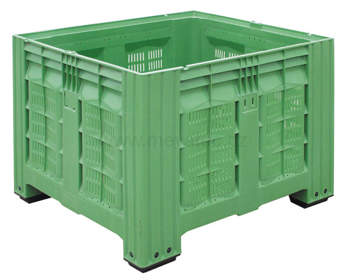 Plastic boxes for fruit and vegetables