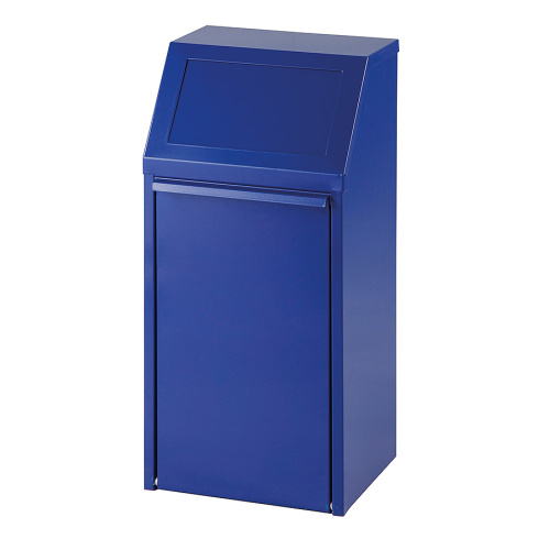 Tipping waste bin 40l. - blue