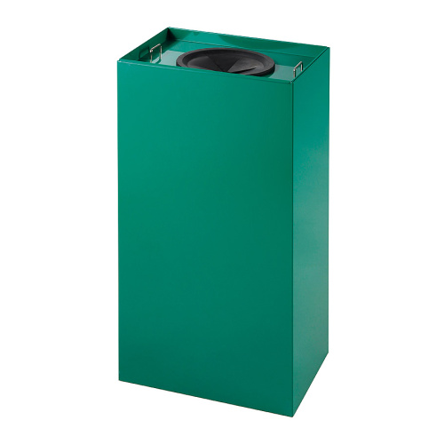 Waste bins for sorted waste 100 l.  - green