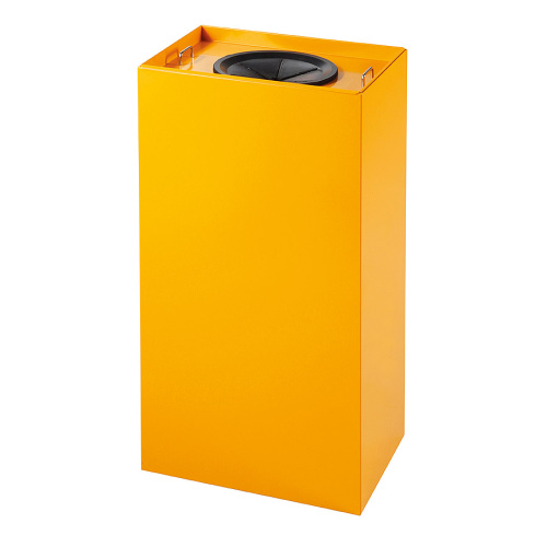 Waste bins for sorted waste 100 l.  - yellow