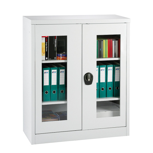 Glassed-in cabinet - modular H = 1150mm