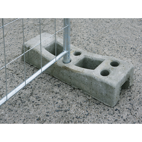Concrete foot