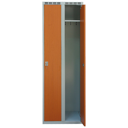 Wardrobe with laminated door 600 mm
