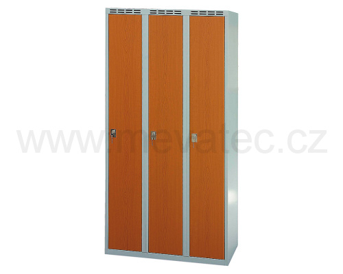 Wardrobe with laminated door 900 mm