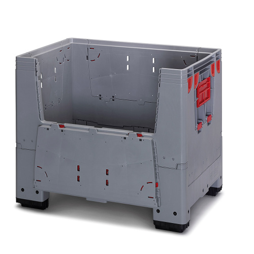 Collapsible plastic box 700 l.