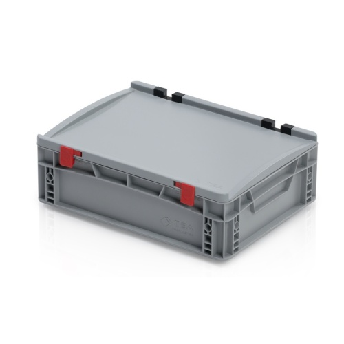 Plastic EURO box 400x300x135 mm with a lid