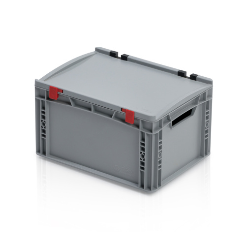 Plastic EURO box 400x300x235 mm with a lid