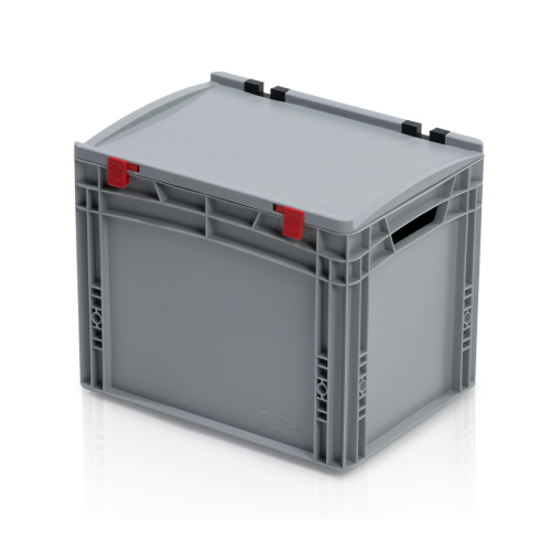 Plastic EURO box 400x300x335 mm with a lid
