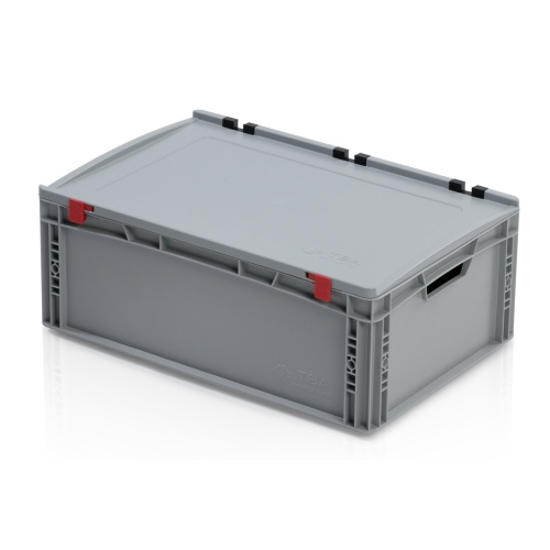 Plastic EURO box 600x400x235 mm with a lid