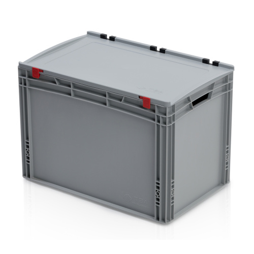 Plastic EURO box 600x400x435 mm with a lid