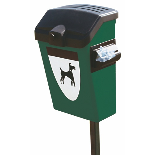 Bin for dog excreta FIDO with storage tank - 25 l.