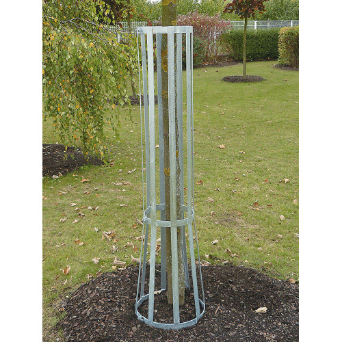 Galvanized high tree protector