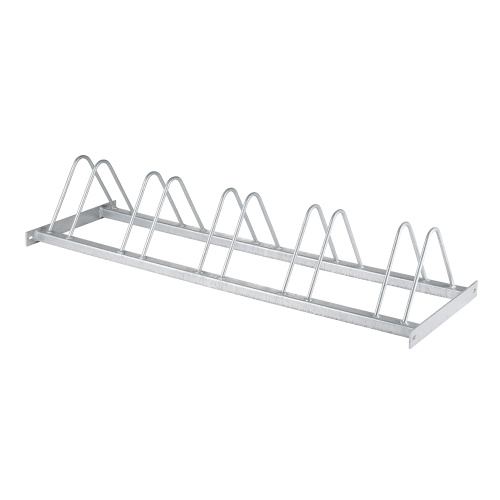 Structure of bike stand for 5 bikes