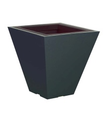 Plastic exterior pot Square S 600/300x600 mm